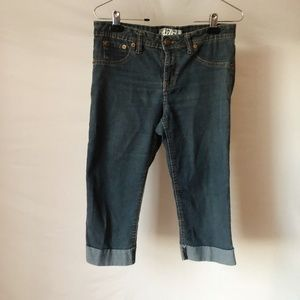17/21 Cropped & Cuffed Jeans Size 10